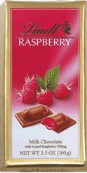 Lindt Filled Raspberry Chocolate Bar